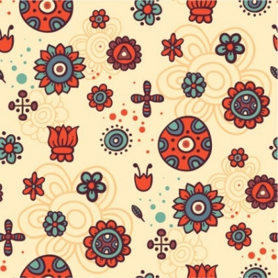 Free vector Vector background  cartoon pattern background 01 vector