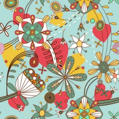 Free vector Vector pattern  cartoon pattern pattern 02 vector