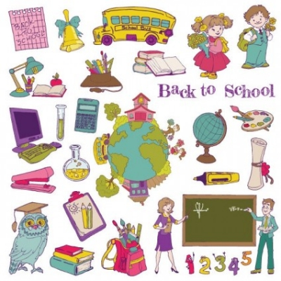 Free vector Vector cartoon  cartoon school theme graphics vector 1