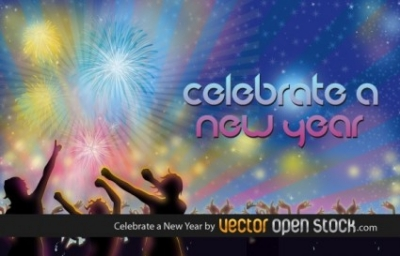 Free vector Vector misc  Celebrate a New Year