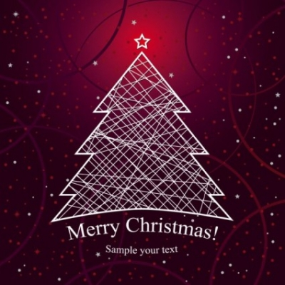 Free vector Vector background  christmas background 02 vector