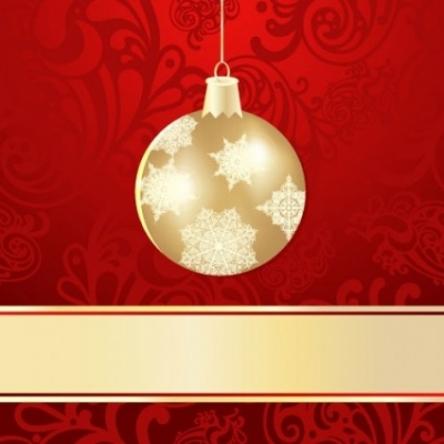 Free vector Vector background  christmas ball background 01 vector