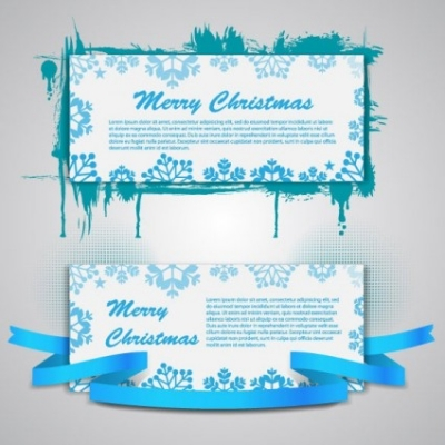 Free vector Vector banner  christmas banners 03 vector