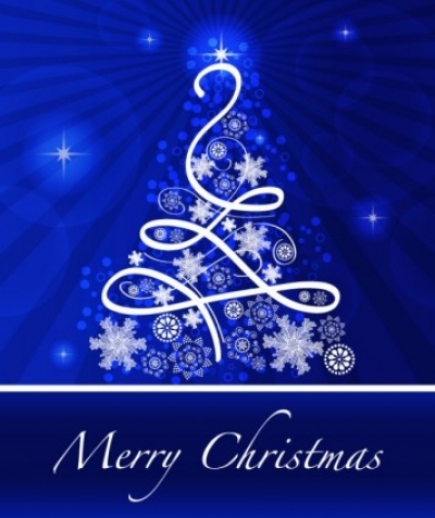 Free vector Vector background  christmas blue background 02 vector