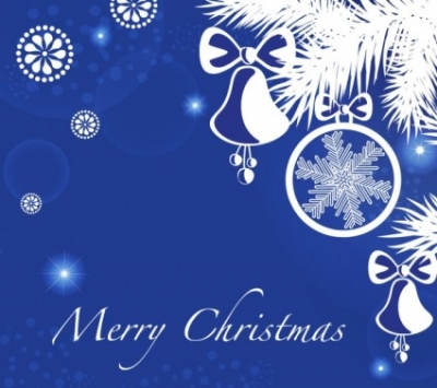 Free vector Vector background  christmas blue background 05 vector