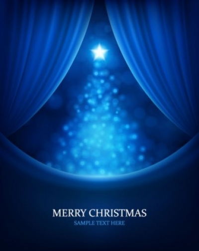 Free vector Vector background  christmas bright background 02 vector