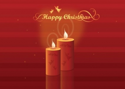 Free vector Vector Christmas  Christmas Candles
