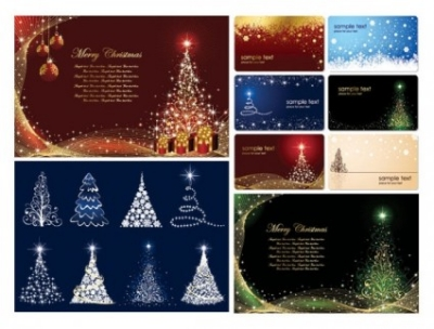 Free vector Vector background  christmas card background vector