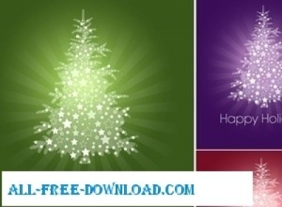 Free vector Vector Christmas  Christmas card FREEBIE