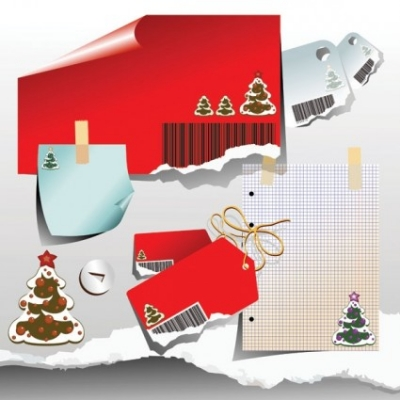 Free vector Vector clip art  christmas clip art of paper
