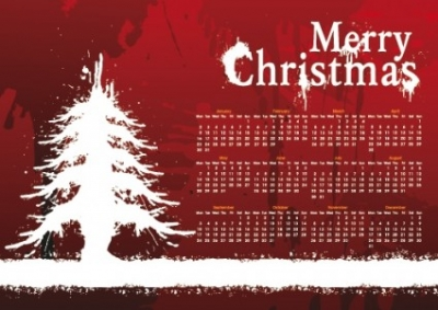 Free vector Vector background  christmas day background calendar 01 vector