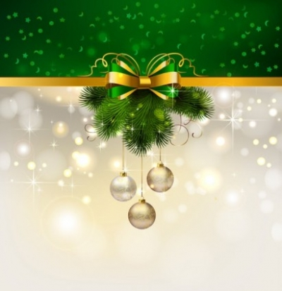 Free vector Vector background  christmas decoration background 04 vector
