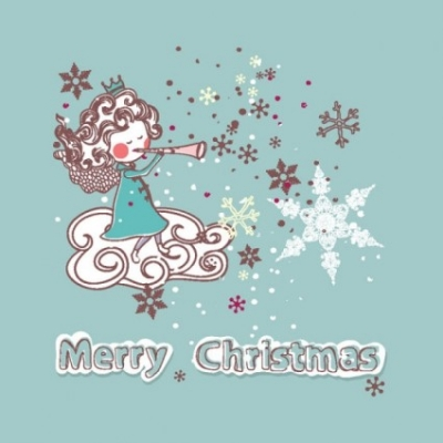 Free vector Vector Christmas  christmas decoration stickers 02 vector