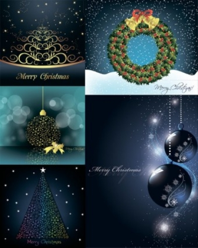 Free vector Vector Christmas  christmas decorative elements vector