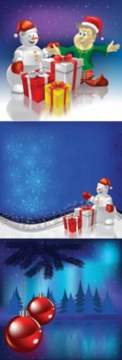 Free vector Vector background  christmas element vector and background
