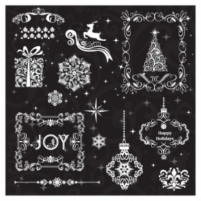 Free vector Vector misc  Christmas Elements