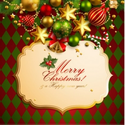 Free vector Vector background  christmas elements background 01 vector