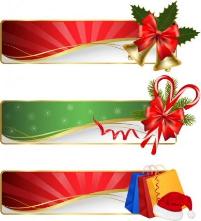 Free vector Vector Christmas  christmas exquisite element 02 vector