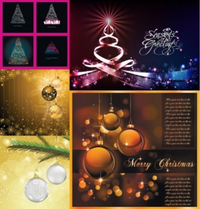 Free vector Vector Christmas  christmas exquisite vector