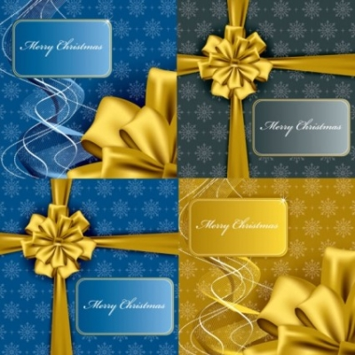 Free vector Vector Christmas  christmas gift box packaging vector