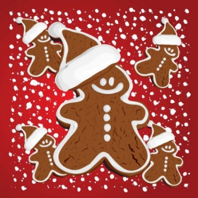Free vector Vector Christmas  Christmas Gingerbread