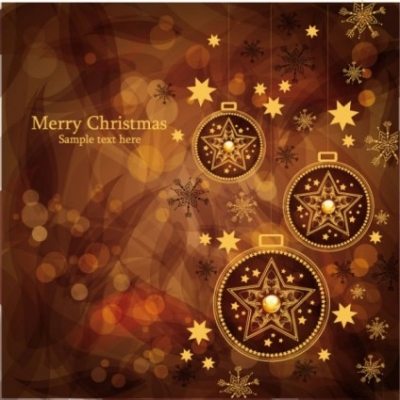 Free vector Vector background  christmas gorgeous brown background 02 vector
