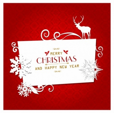 Free vector Vector Christmas  Christmas greeting card