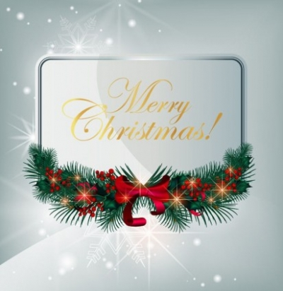 Free vector Vector Christmas  Christmas Greeting Card Vector Graphic