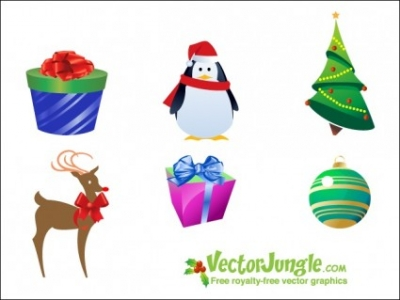 Free vector Vector icon   								Christmas Icon Pack