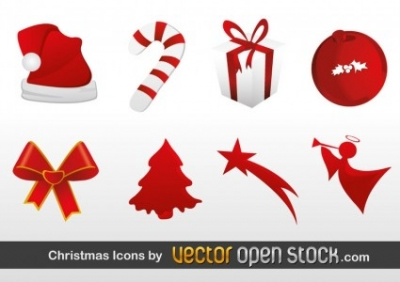 Free vector Vector icon  Christmas Icons