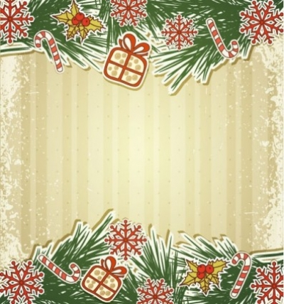 Free vector Vector Christmas  christmas label 02 vector