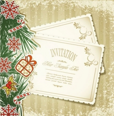 Free vector Vector Christmas  christmas label 05 vector