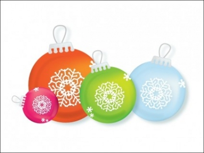 Free vector Vector icon   								Christmas Ornaments