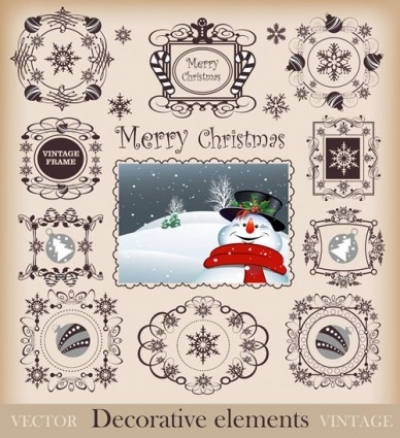 Free vector Vector pattern  christmas pattern border 02 vector