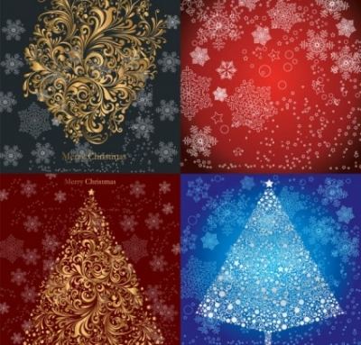 Free vector Vector pattern  christmas pattern vector