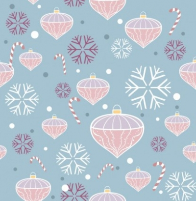 Free vector Vector pattern  Christmas Seamless Pattern Vector
