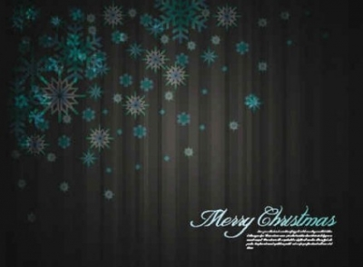 Free vector Vector background  Christmas snowflake background