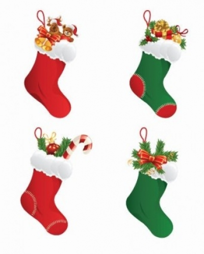 Free vector Vector Christmas  Christmas Stockings Vector Graphic
