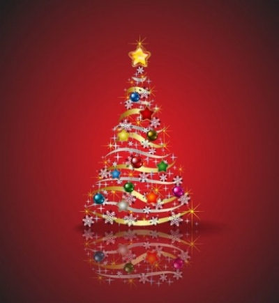 Free vector Vector Christmas  Christmas Tree Vector Graphic