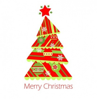 Free vector Vector Christmas  Christmas Tree Vector Illustration 1