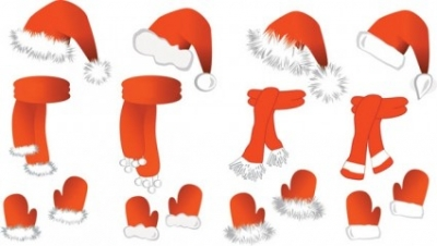 Free vector Vector Christmas  christmas vector and equipment