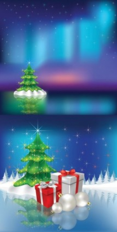 Free vector Vector background  christmas vector background dream