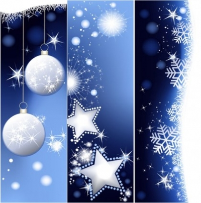 Free vector Vector banner  christmas vertical shaped banner vector background