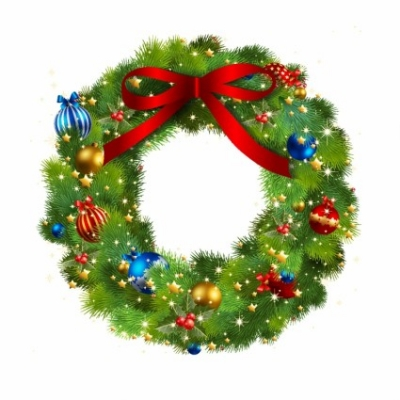 Free vector Vector Christmas  Christmas Wreath