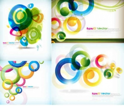Free vector Vector background  circle background