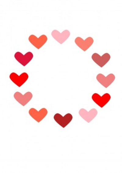 Free vector Vector clip art  Circle of Love