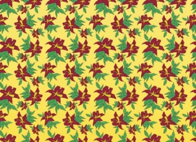 Free vector Vector pattern  Classic Flowers Pattern