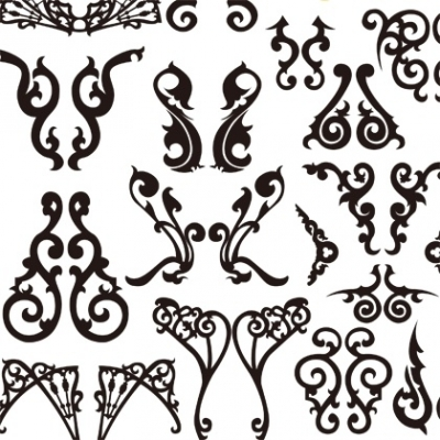 Free vector Vector pattern  Classical Decorative Patterns Free Vector Graphics