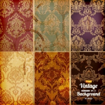 Free vector Vector background  classical pattern background vector