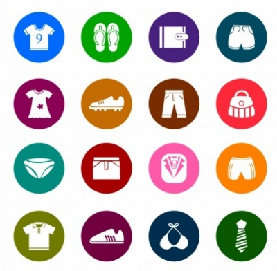 Free vector Vector icon  Clothing and Accessories Color Icons